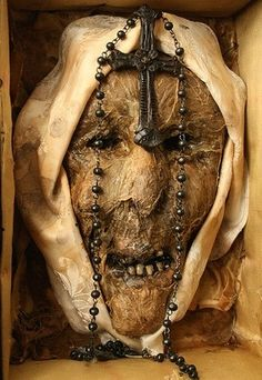 Mystical Relic Of First Recorded Possessed Nun.