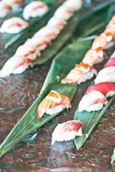 Sushi brunch at the Ritz Four Seasons in Lisbon, Portugal