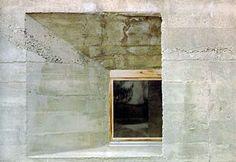 Rudolf Olgiati I Crap Las Caglias Concrete Architecture, Art And Architecture, Architecture Details, Lausanne, Le Corbusier, Greece House, Norfolk House, Joinery Details, Unusual Buildings