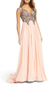 New MAC DUGGAL Beaded Gown fashion online. [$598]?@shop hoodress<<