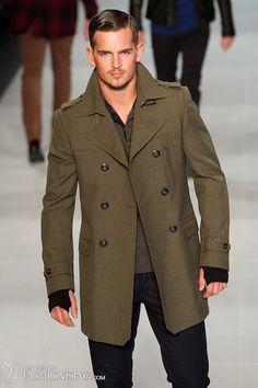 Awesome coat from David Jones ᔥFashionising.com
