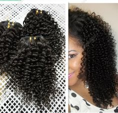 8-28inch kinky curl weaving Malaysian Brazilian Mongolian kinky curly virgin human hair extensions natural black - US $79.00