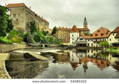 Cesky Krumlov, Czech Republic ~  This castle city is one of the Czech Republic's finest medieval sites.  Its Old Town is a maze of twisting alleys built around the extensive Cesky Krumlov castle