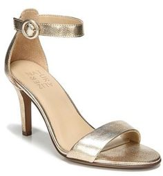 b6e437fd329 Calvin Klein Marinda Snake Print Leather Sandal