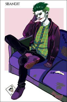 The Joker by sibandit.deviantart.com on @DeviantArt
