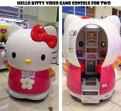 Hello Kitty Game Console for Two From Japan ...
