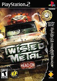 Twisted Metal: Head-On: Extra Twisted Edition Sony PlayStation 2 NEW game PS2