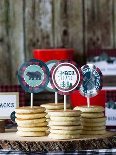 Lumberjack Cupcake T
