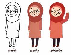 Noor Khalil on Behance Best Ramadan Quotes, Youtube Editing, Storyboard, Behance, Animation, Creative, Illustration, Art, Art Background