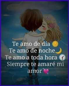 imagenes de amor Good Day Quotes, Love Husband Quotes, Love Quotes For Her, Cute Cartoon Pictures, Cute Love Pictures, Love Images, Words That Mean Love, Love Words, Love Is Comic