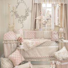 Florence Bedding by Glenna Jean - Baby Crib Bedding - 13340