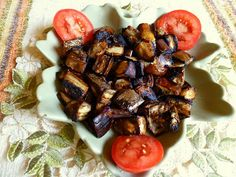 OVEN ROASTED EGGPLANT - Crispy on the outside and creamy-soft on the inside