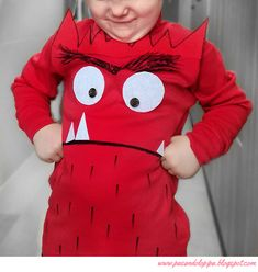 Discover recipes, home ideas, style inspiration and other ideas to try. Monster Party, Easy Book Week Costumes, Diy Halloween Costumes For Kids, Diy Disfraces, Halloween Disfraces, Carnival Costumes, Baby Costumes, World Book Day Ideas, Carnavals