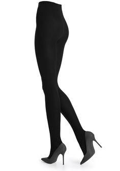 Klassisk strømpebukse i sort. God og behagelig. Fås i S - XL