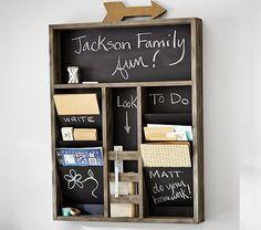 Jackson Family Organizer   Pottery Barn Kids
