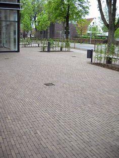Clay pavers - sepia