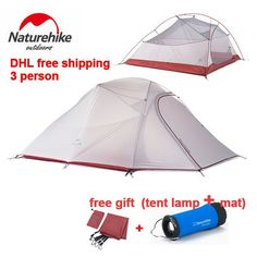#DollaStore #shop #sale http://thedolla.store/products/naturehike-double-layer-silicone-fabric-3-person-tent?utm_campaign=social_autopilot&utm_source=pin&utm_medium=pin NatureHike Double... #hot