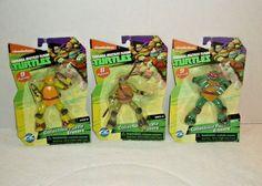 TMNT Ninja Turtles 3D Eraser 4 Assorted
