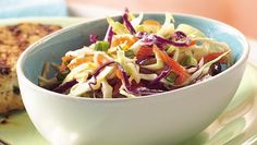 Tasty slaw ready in just five minutes - a perfect side dish!