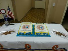 Eagle Scouts is always an honor to do their cakes.