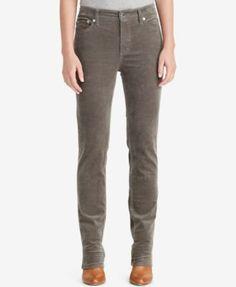 Lauren Ralph Lauren Premier Straight Corduroy Pants