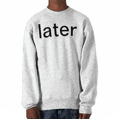 later pull over sweatshirt