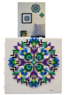 HAMA - Purple flowers1