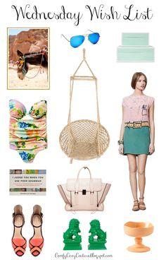 Comfy Cozy Couture | Wednesday Wish List |  Spring Fashion & Home Decor Favorites