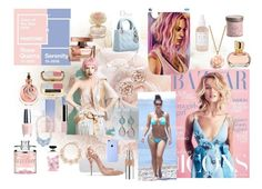 """Fashion Icon Rose Quartz Serenity Love"" by deannastraub ❤ liked on Polyvore featuring Waterford, STELLA McCARTNEY, OPI, Eberjey, Dolce&Gabbana, Target, Herbivore Botanicals and Yves Saint Laurent"