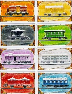 ticket to ride, nordic edition, snow covered trains Games Room Inspiration, Pnp Games, Modern Games, Ticket To Ride, Wild West, Game Design, Board Games, Christmas Diy, The Incredibles