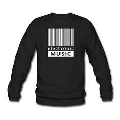 Tonony.com | street elektro parade - Unisex Pullover. Barcode Zeige mit diesem coolen Motiv deine Liebe zur elektronischen Musik. T-Shirts für jeden Anlass tragbar � � persönliche Geschenkidee � Trance, Electro, Elektro, House, Minimal, techno, trance