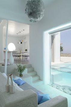Decoração mediterrânea casa grega | Ideias decoração mobiliário