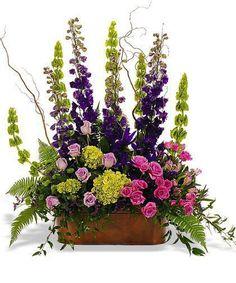 Arreglo floral, arreglo seda superior de mesa, arreglo seda, seda centro de mesa, florales de seda, flores Funeral, arreglos para Funeral