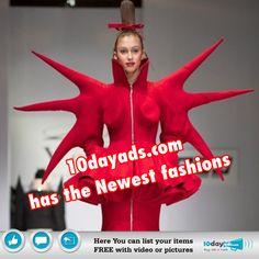 10dayads.com has the Newest Fashions #NewFashion #FashionAds #FashionClassifiedAdsPosting #FreeFashionAds