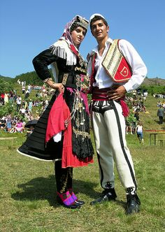 Tradycyjny strój albański