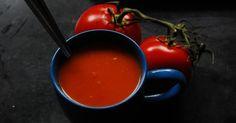 notatki kulinarne: Zupa krem z pieczonych pomidorów