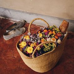 Returning from the market...  #MyProvenceEverydayObjects