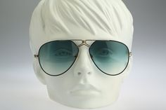 Rodier Mod M129 Col 314 / Vintage sunglasses / NOS / 80s West Germany made aviator eyeglasses by CarettaVintage on Etsy