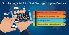 7 Elements for Developing a Mobile First Strategy We are today in the middle of the biggest technology revolution ever. With processing power, bandwidth, and storage capacity of smartphones and other mobile devices increasing exponentially, personal computers are fast being replaced as the preferred means of connecting with the world. Read More:goo.gl/tRAkf8 #IT #Mobilefirststrategy #Mobile #Saas #Web