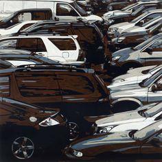 Wayne Gonzales, Untitled, 2013, Acrylic on canvas, 213.4 x 213.4cm, (84 x 84in)