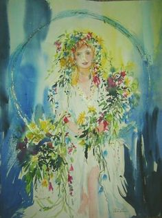 Wordpress, Princess Zelda, Watercolor, Painting, Fictional Characters, Art, Pen And Wash, Art Background, Watercolor Painting