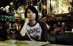 A shot by Jan Buus of Shimura Masahiko ( RIP ), former vocalist of Fujifabric