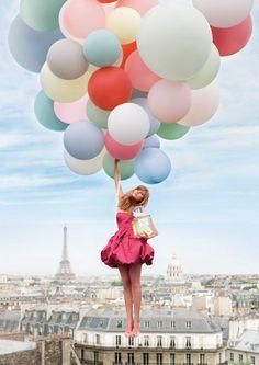 globos en paris♥