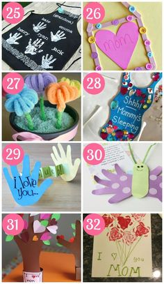 Child Crafts for Mother's Day