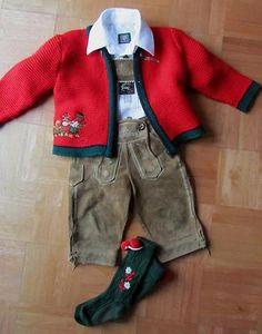 Cutest Toddlers Lederhosen Outfit. http://www.oktoberfesthaus.com