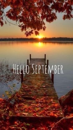 photos of lakes with a pier Fall Wallpaper, Wallpaper Backgrounds, Iphone Wallpaper, September Wallpaper, Beautiful Places, Beautiful Pictures, Finland Travel, New Month, Autumn Photography