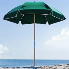 6.5 ft Islanders Wood Beach Umbrella. Only $139.00 FREE Shipping. #PatioUmbrellas Market Umbrella, Beach Umbrella, Wind Damage, Offset Umbrella, Beach Relax, Umbrellas Parasols, Beach Picnic, Wood