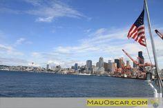 Passeio de Barco pela Elliott Bay em Seattle