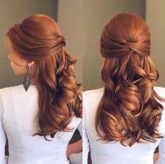 Natural Hair Mask to Boost Hair Growth - Windour Bridesmaid Hair, Prom Hair, Wedding Hairstyles, Cool Hairstyles, Party Hairstyle, Beautiful Hairstyles, Natural Hair Styles, Long Hair Styles, How To Make Hair