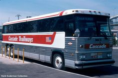 Cascade  Trailways  MC9 Luxury Bus, New Flyer, New Bus, Motor Homes, Bus Coach, Busses, Commercial Vehicle, Campers, Vintage Photos